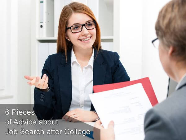 Advice about Job Search after College