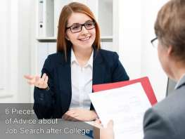 6 Pieces of Advice about Job Search after College