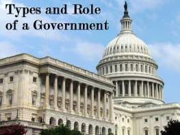 Types and Role of a Government